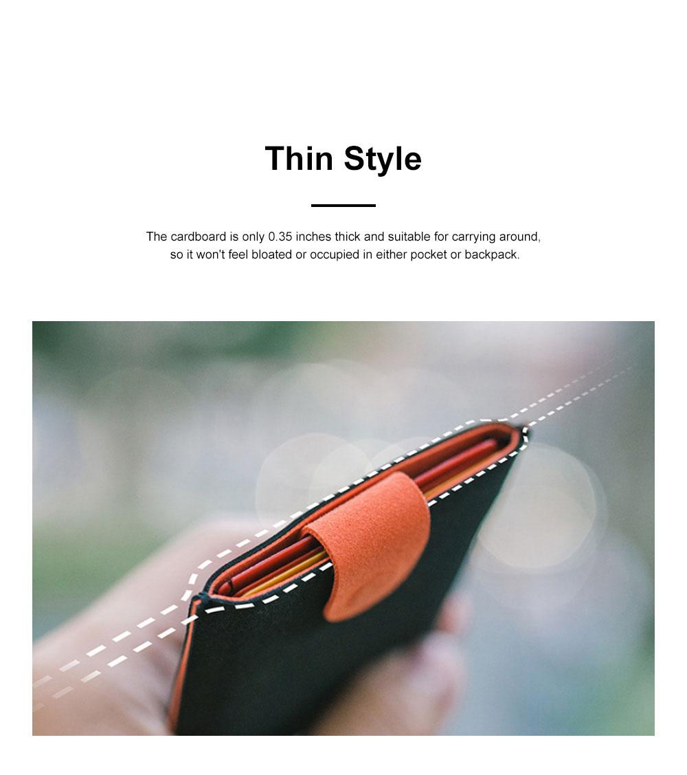 DAX 2.0 Multi-card Wallet Cascading Progressive Fashion Multi-card Wallet Men's and Women's Wallets 5