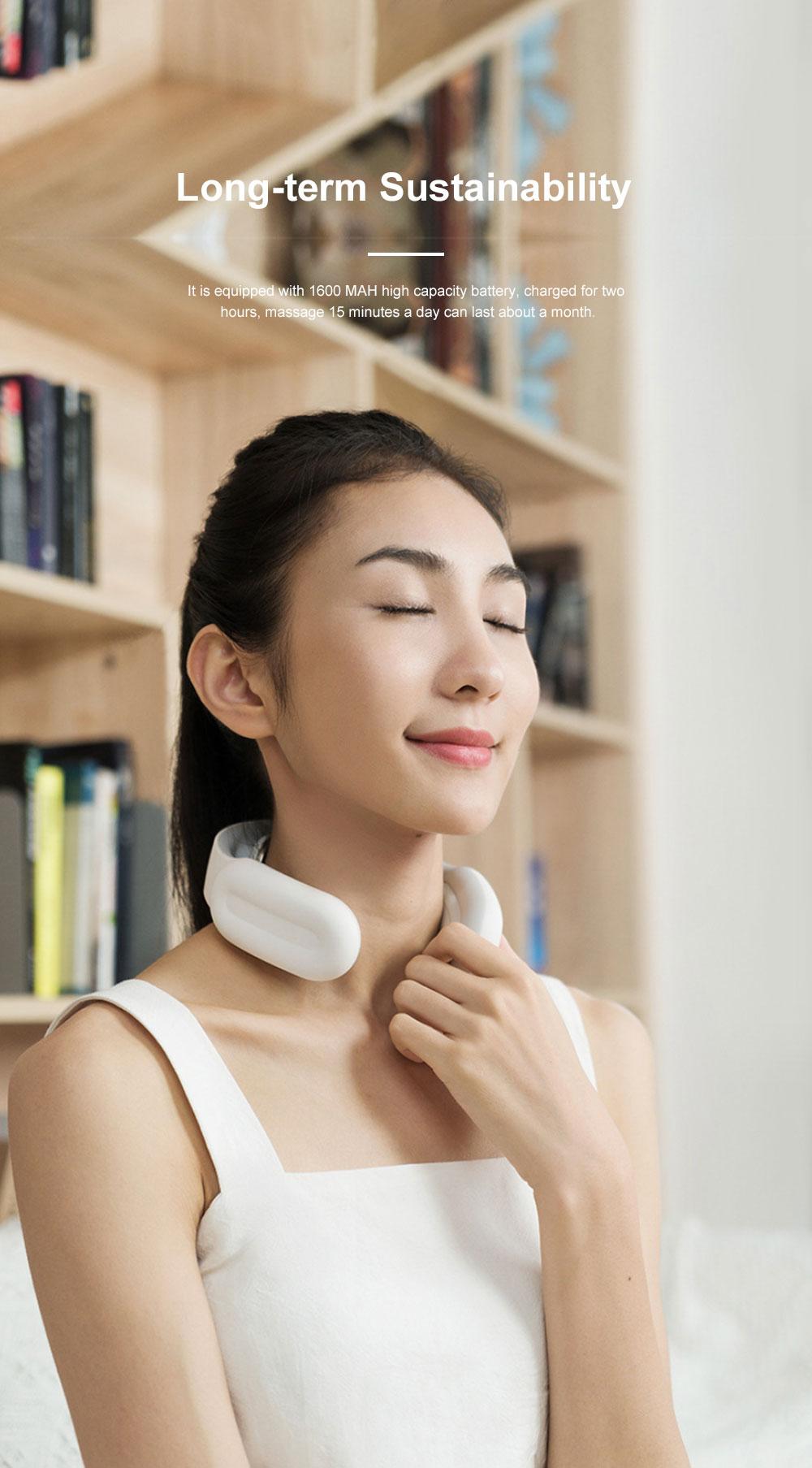 Household Electric Neck Massage Instrument Intelligent Multifunctional Nursing Instrument for Neck Shoulder Waist and Neck 3