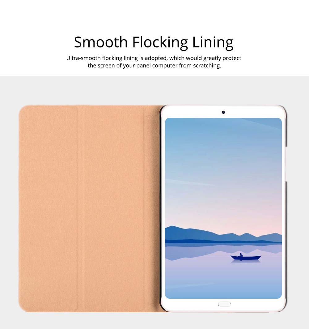 10.1 Inch Smooth Leather Breaking-proof Scratching-proof Xiaomi 4 Plus Protective Case Stylish Smart Full Protection Cover 1