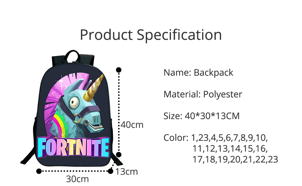 Water-Resistant School Backpack Polyester Student School Bag for Travel Outdoor Camping 6