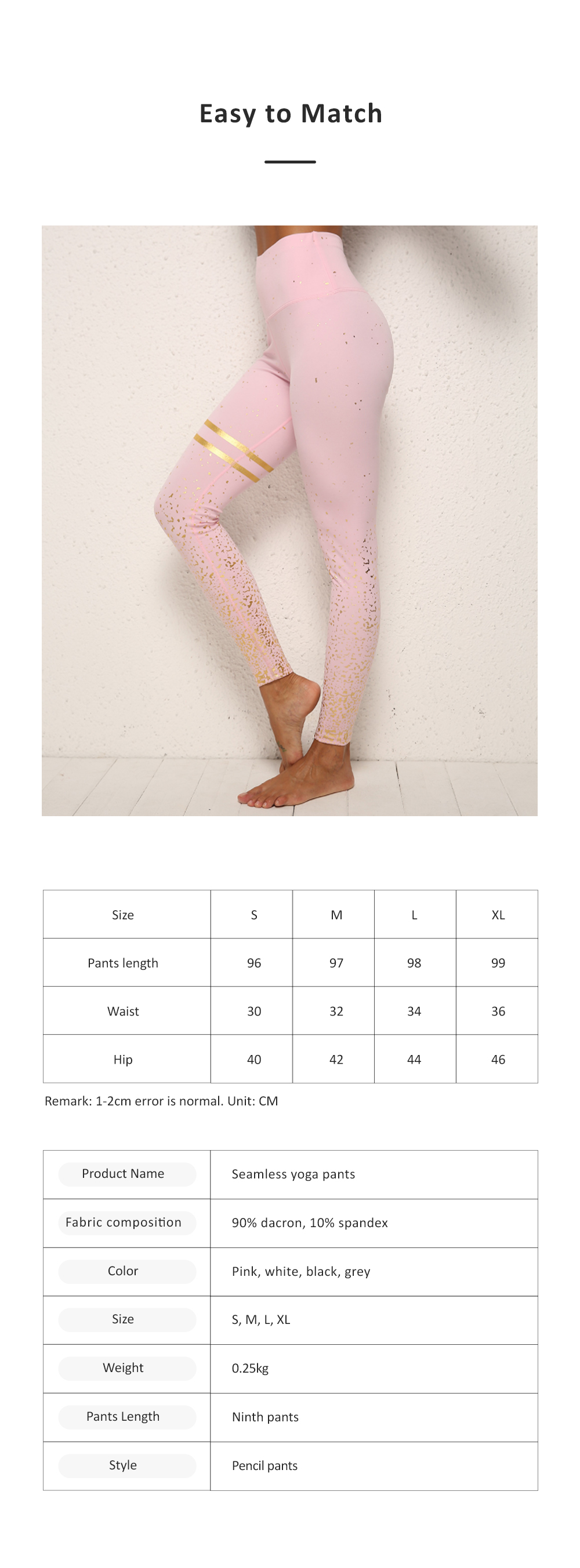 Yoga Fitness Women Leggings High-waisted Elastic Pants Close-fitting Seamless Ninth Pants with Silver Plating for Lady Fitness 6
