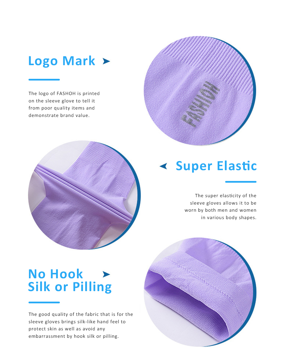 Anti-mosquito Ice Silk Sleeve Gloves for Unisex Wear in Summer Sun Block Sleeve Gloves for Riding Running Driving Ultraviolet Proof Mittens 3