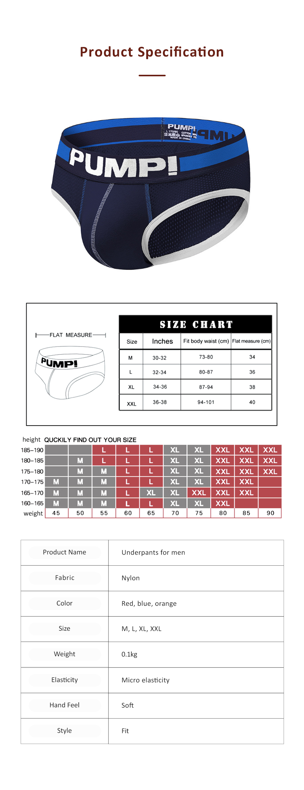 Mesh Breathable Underpants for Man's Daily Wear Sexy Briefs 100% Cotton Material Breathable briefs Underwear for Men 6