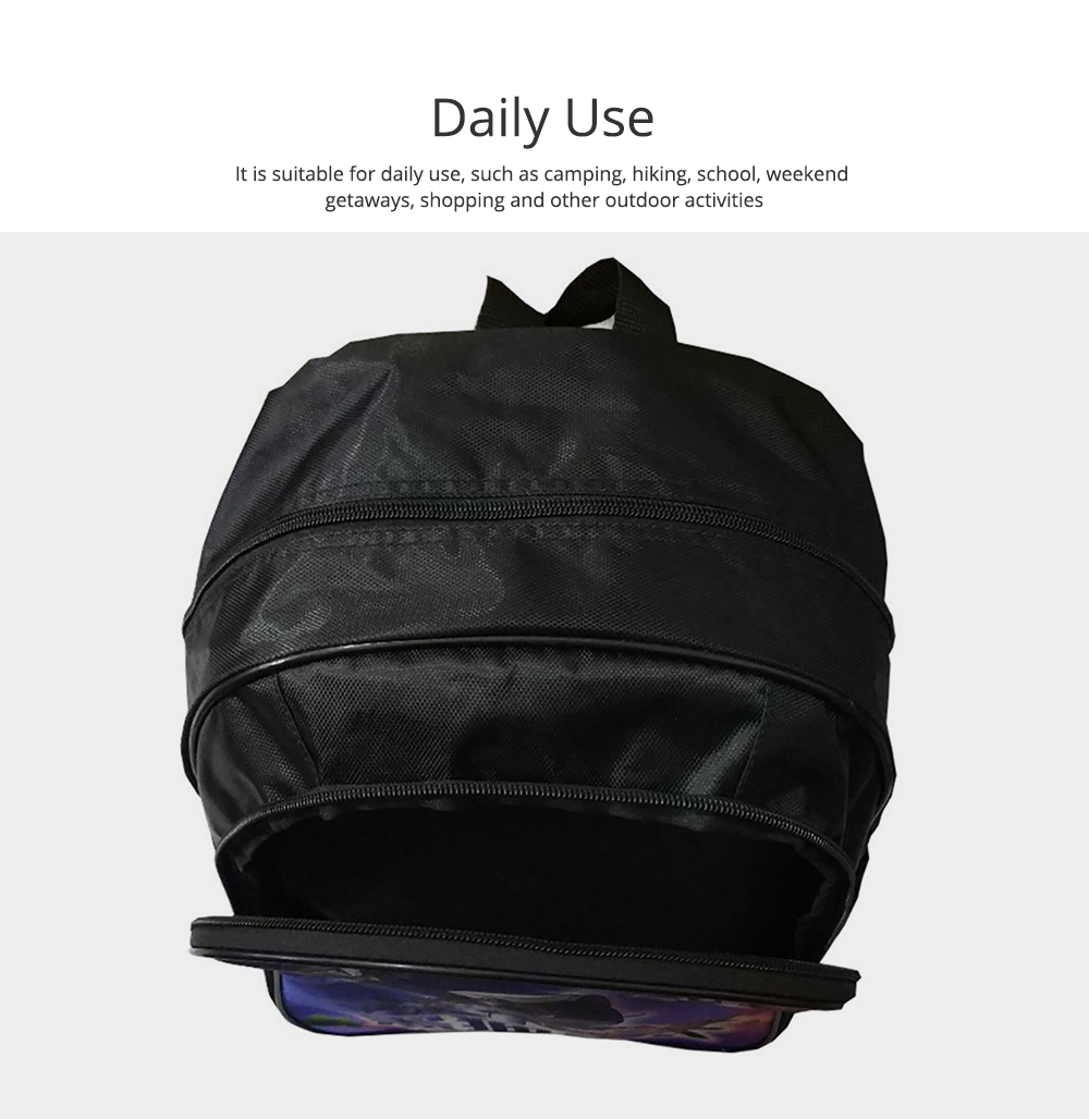 Water-Resistant School Backpack Polyester Student School Bag for Travel Outdoor Camping 1