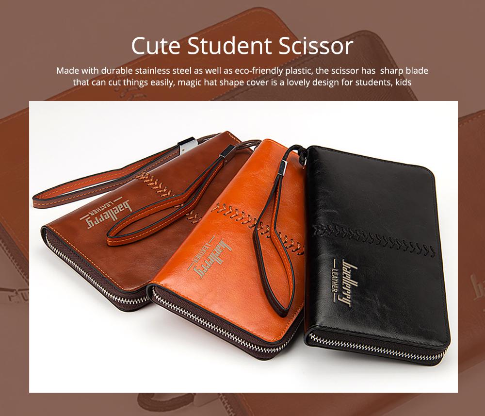 RFID Blocking Wallet Long Handbag Large Capacity PU Leather Clutch Bag Multi-Card Holder Organizer Phone Bag for Men 0