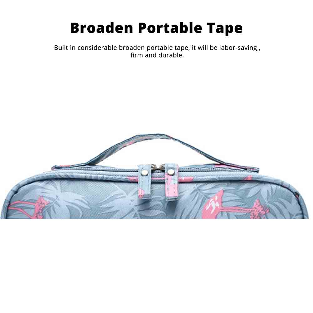 Travel Makeup Large Capacity Portable Storage Package to Collect Hand Makeup Box Layer Washing Bag 5