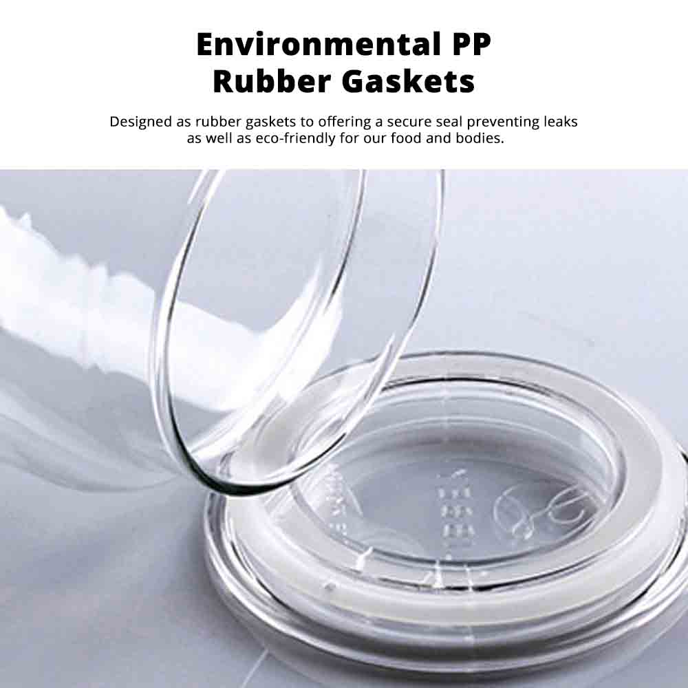 Airtight Glass Bottles Transparent Colorful Jars for Storage Tea, Dried Fruit Organizer, Universal Kitchen Storage 5
