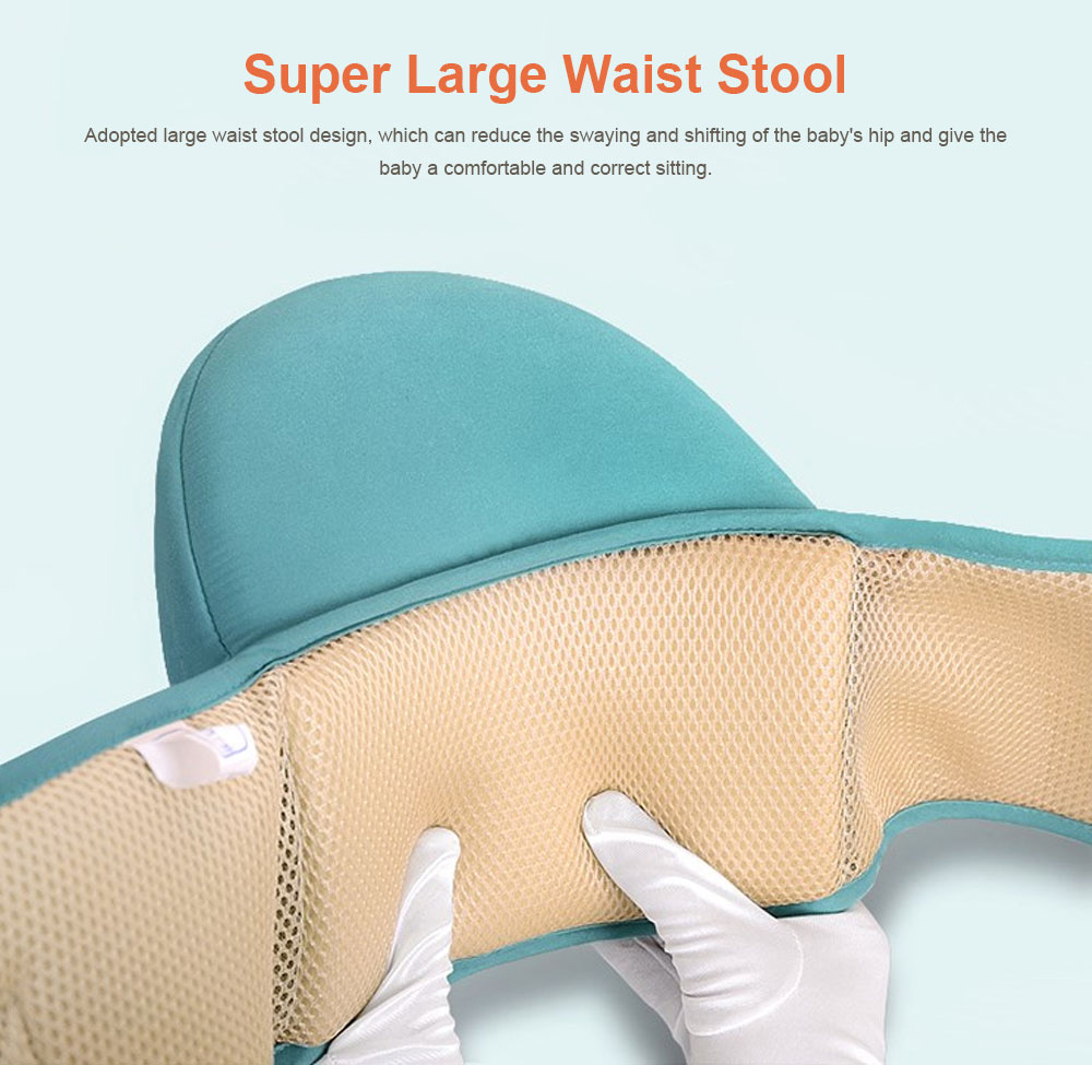 Multiple Functions Baby Carriers Waist Stool, Breathable Child Stool Hold Infant and Toddler Product for 0-36 months baby 5
