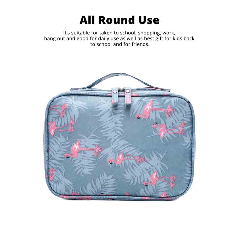 Travel Makeup Large Capacity Portable Storage Package to Collect Hand Makeup Box Layer Washing Bag 4