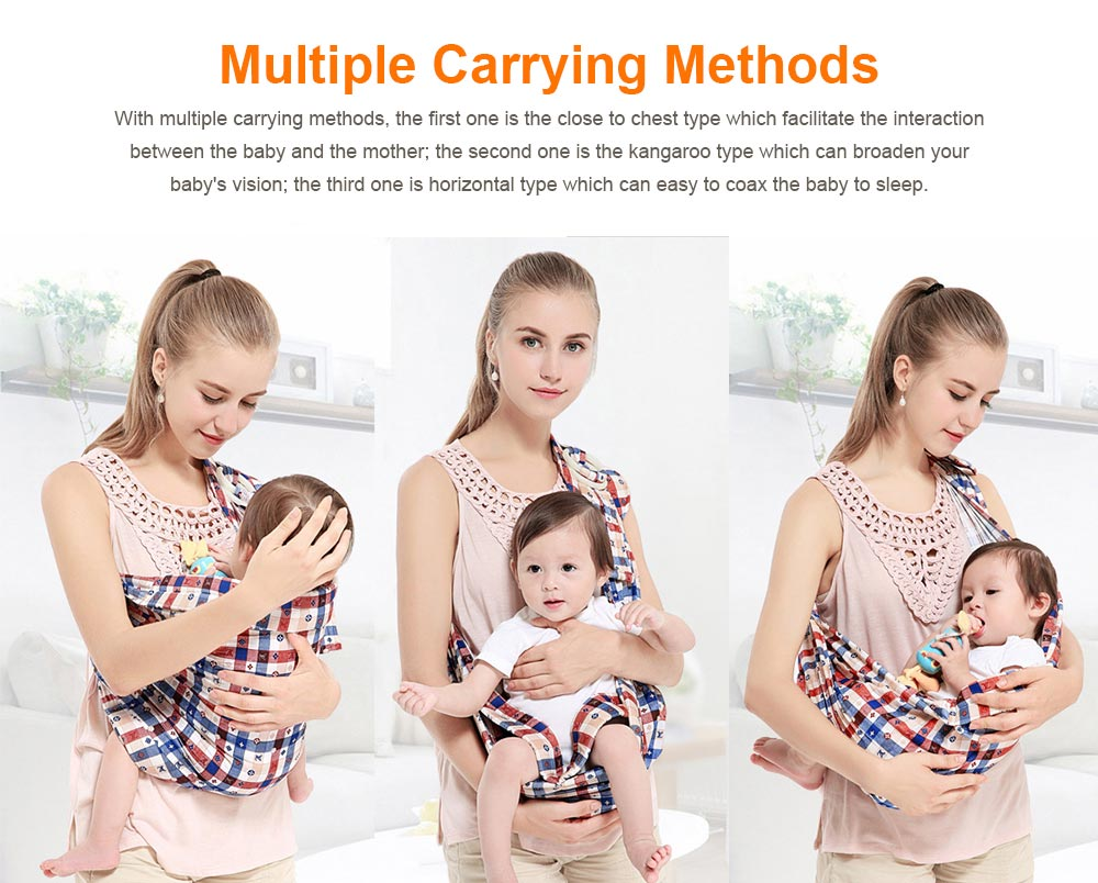 Baby Carriers with Single Shoulder Strap, Multiple Colors Carrier Toddler Product Suitable for Newborn Infants and Toddler 2