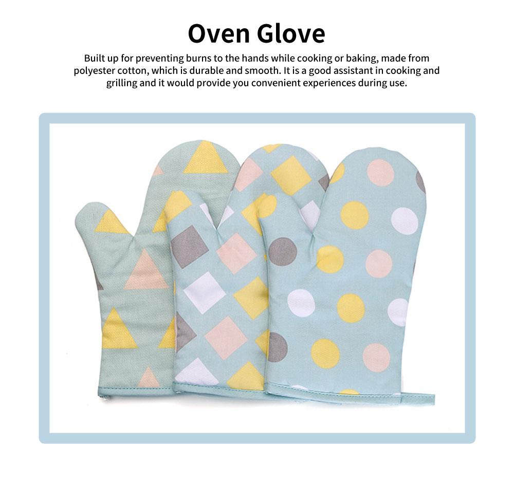Heat Resistant Microwave Oven Gloves, Heatproof Mitten, Kitchen Baking Oven Mitts, Good Assistant in Cooking 0