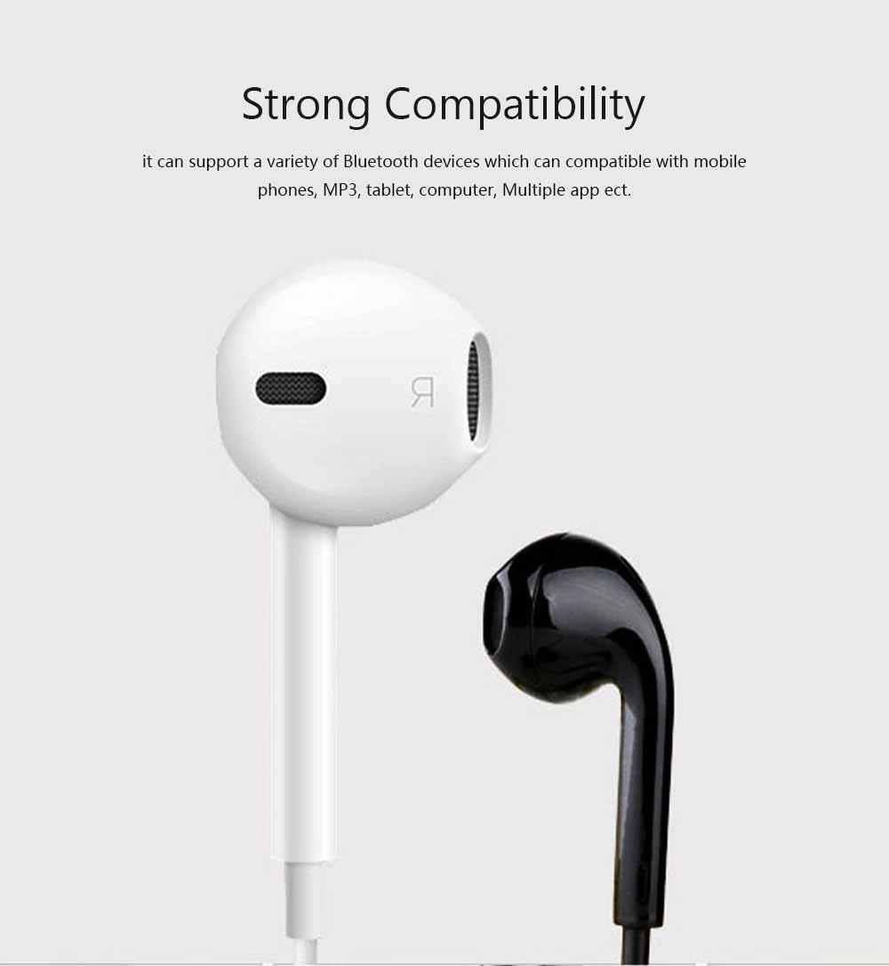 S6 Bluetooth Headset, Sports 4.1 Stereo Wireless Earbuds Gift Explosion Bluetooth Headset, Wireless Bluetooth Earphone 5