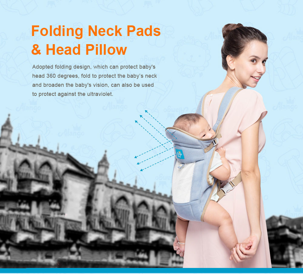 Multiple Functions Baby Carriers, WindproofDust-proof Infant Carrier Toddler Product Suitable for 3-18 Months Baby 3