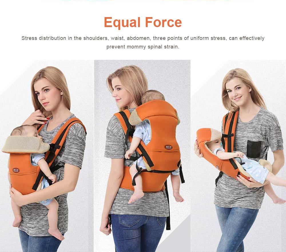 Multiple Functions Baby Carriers Waist Stool, Breathable Child Stool Hold Infant and Toddler Product for 0-36 months baby 4