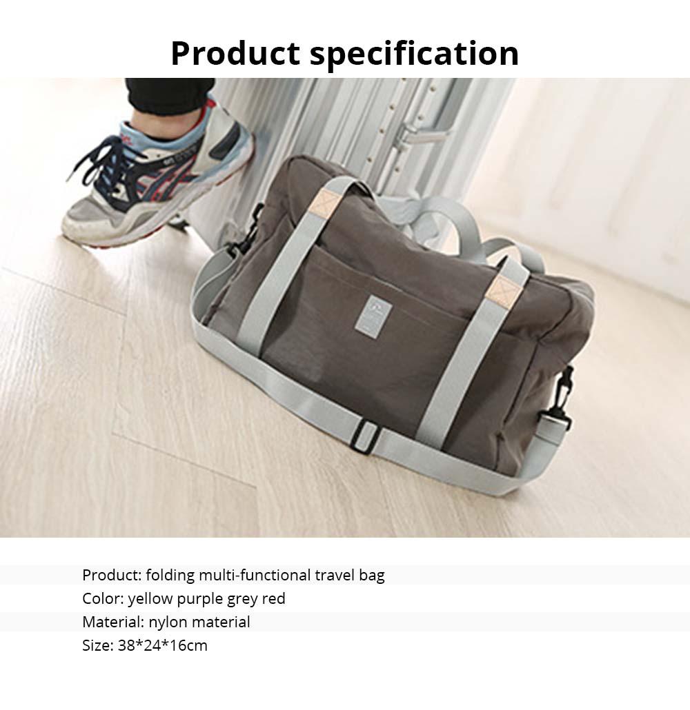 Waterproof Storage Bag Folding Travel Bag Exercise Yoga Bag Water Washing Nylon Dustproof Organizer Bag 6
