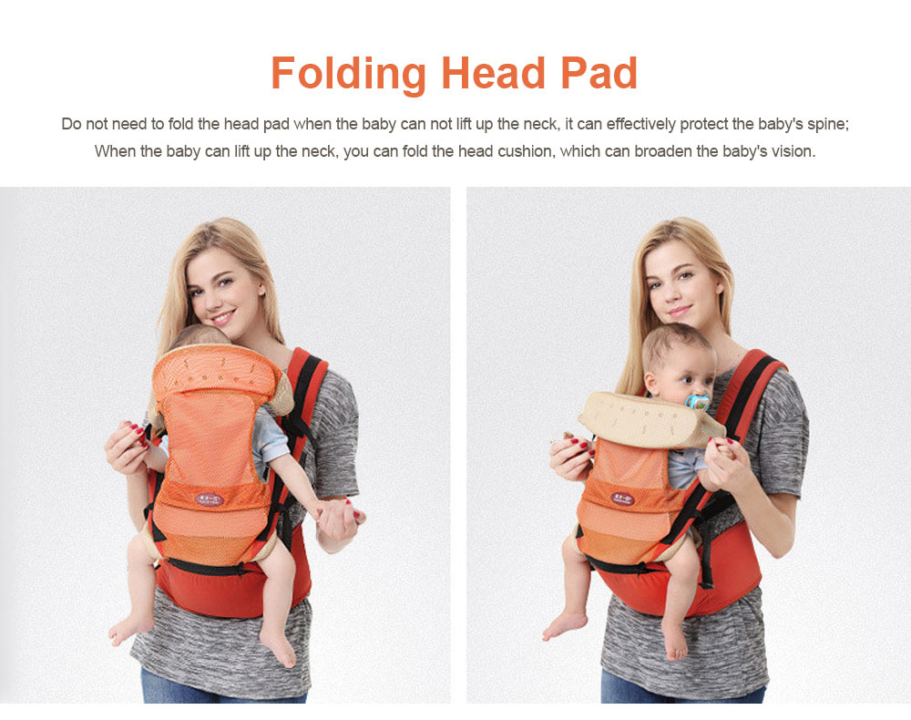 Multiple Functions Baby Carriers Waist Stool, Breathable Child Stool Hold Infant and Toddler Product for 0-36 months baby 8