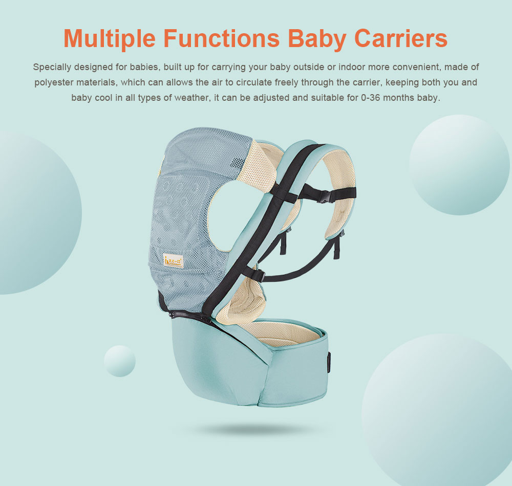 Multiple Functions Baby Carriers Waist Stool, Breathable Child Stool Hold Infant and Toddler Product for 0-36 months baby 0