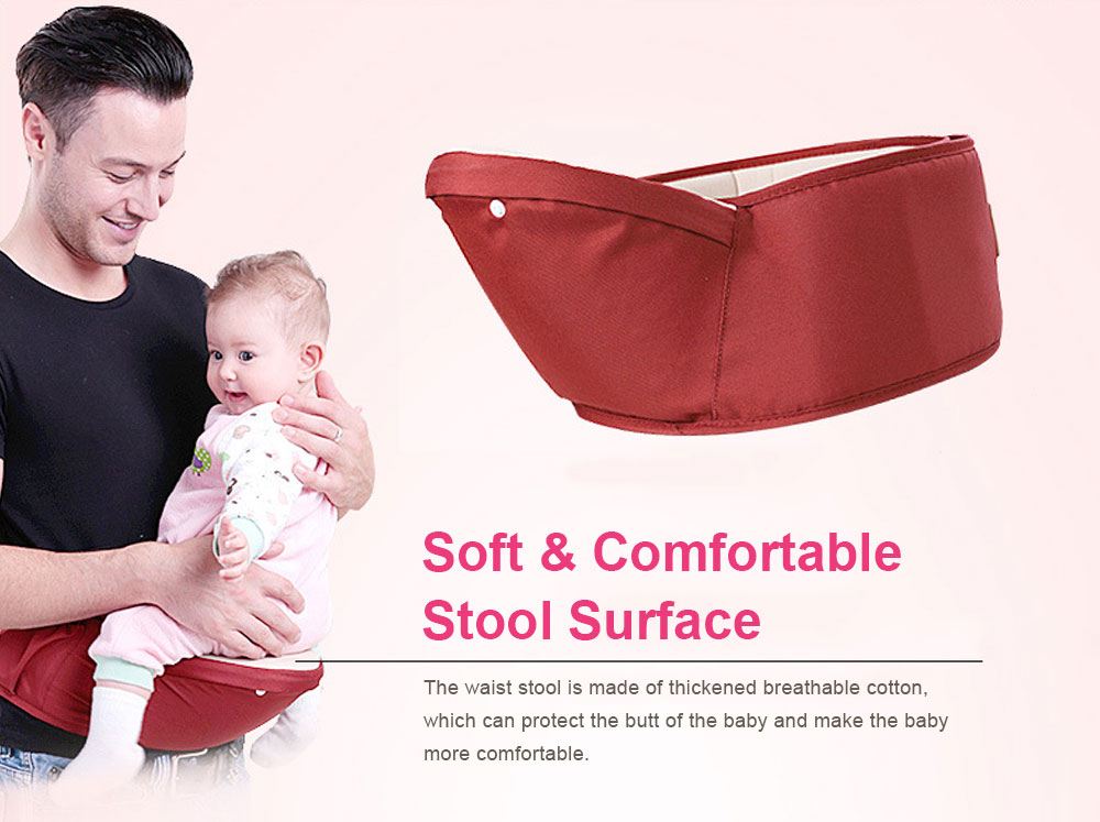 Baby Carriers Waist Stool, Breathable Child Stool Hold Infant and Toddler Product for 0-36 Months Baby Suitable for All Seasons 6