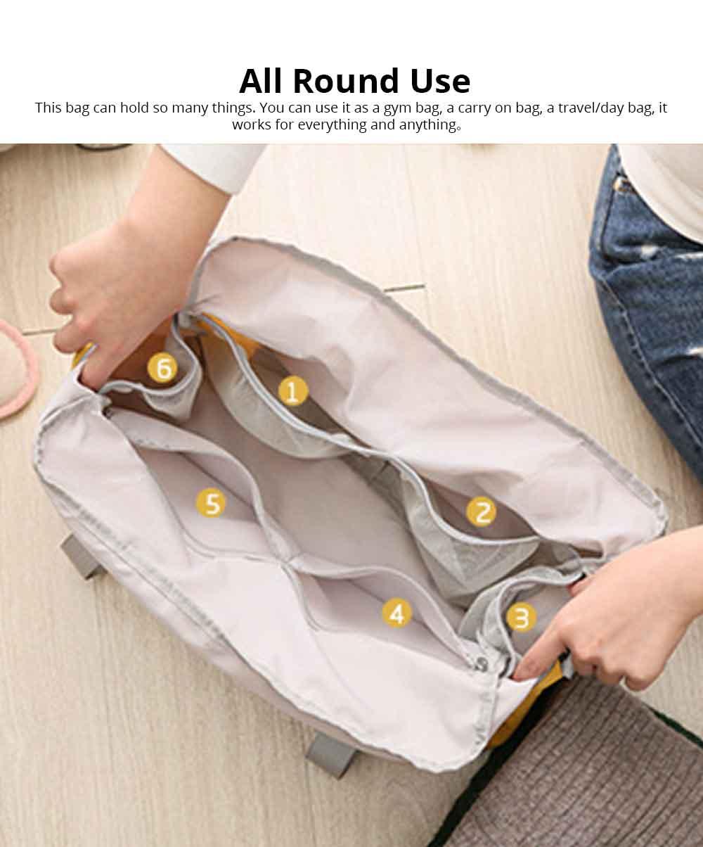 Waterproof Storage Bag Folding Travel Bag Exercise Yoga Bag Water Washing Nylon Dustproof Organizer Bag 4
