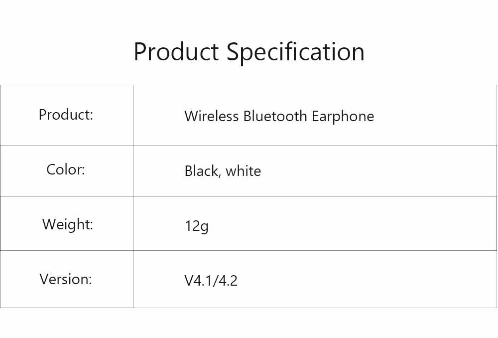 S6 Bluetooth Headset, Sports 4.1 Stereo Wireless Earbuds Gift Explosion Bluetooth Headset, Wireless Bluetooth Earphone 6