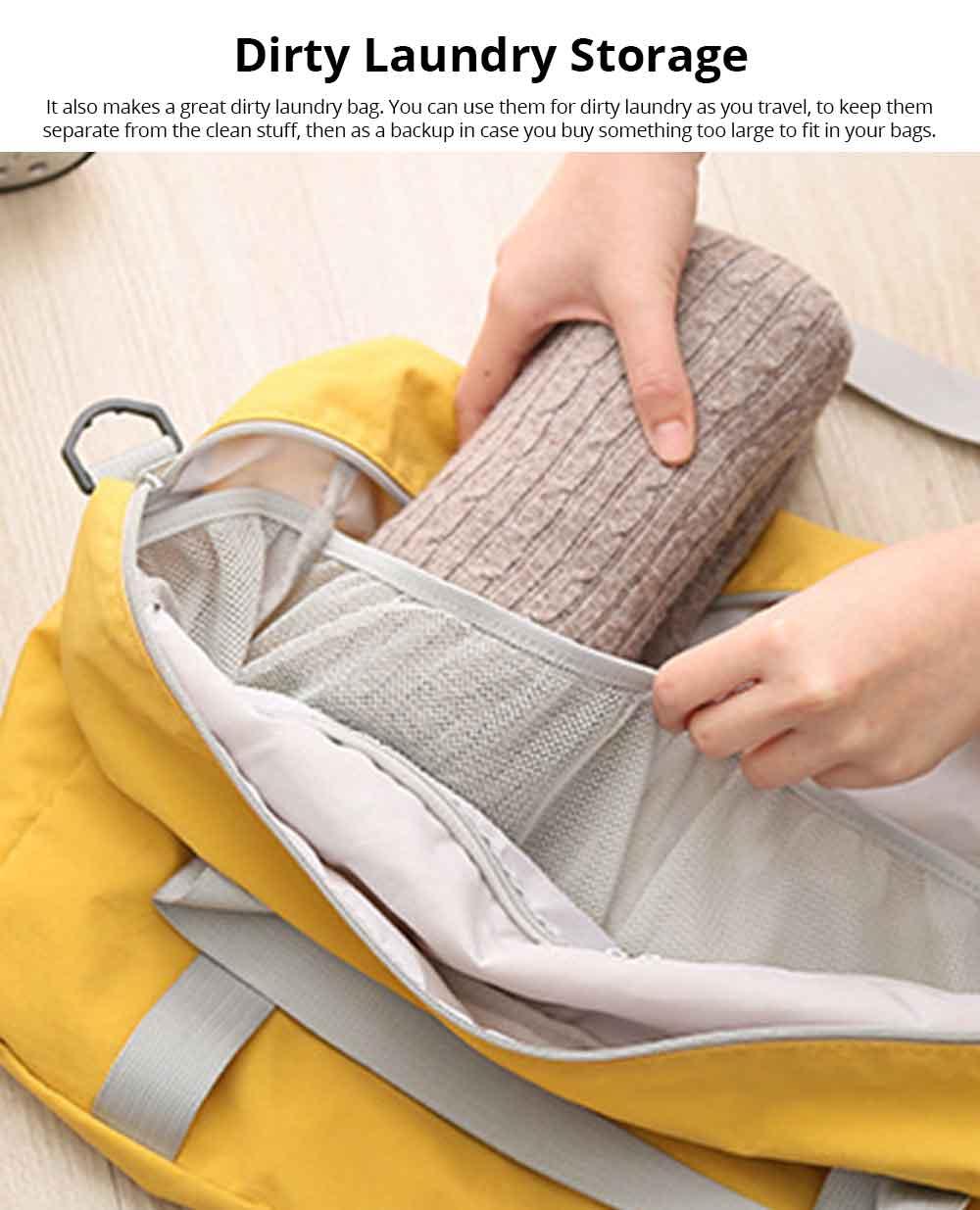 Waterproof Storage Bag Folding Travel Bag Exercise Yoga Bag Water Washing Nylon Dustproof Organizer Bag 5