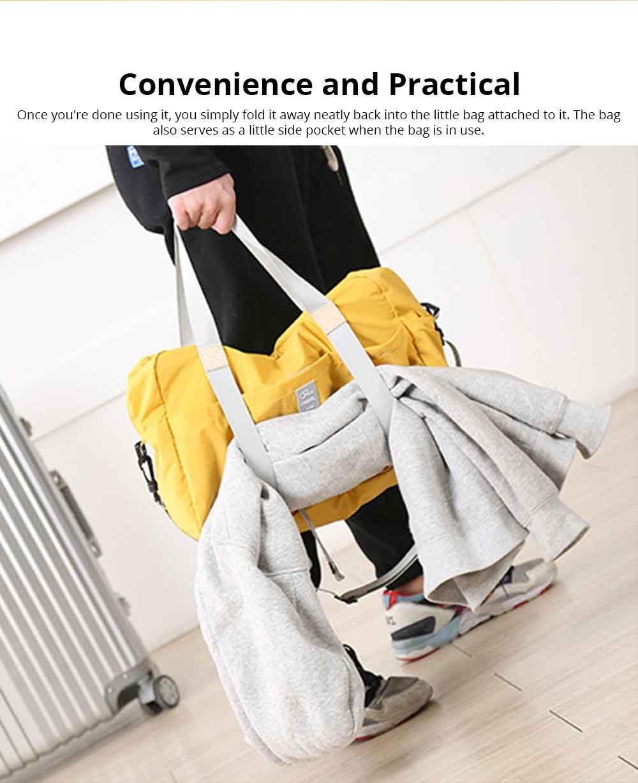 Waterproof Storage Bag Folding Travel Bag Exercise Yoga Bag Water Washing Nylon Dustproof Organizer Bag 3