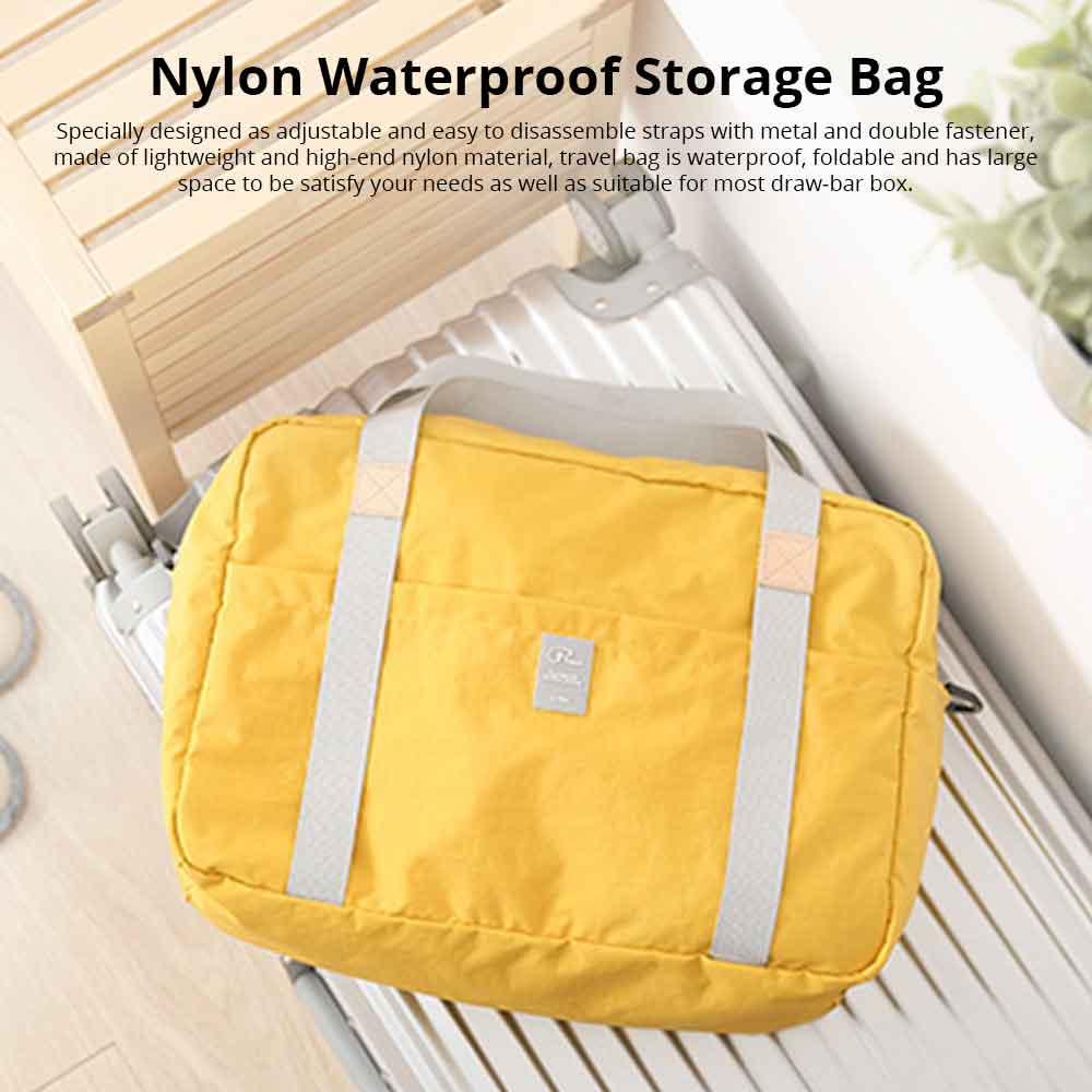 Waterproof Storage Bag Folding Travel Bag Exercise Yoga Bag Water Washing Nylon Dustproof Organizer Bag 0