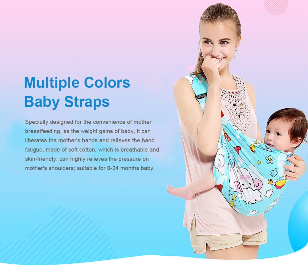 Baby Straps Baby Carriers, Multiple Colors Single Shoulder CarrierToddler Product Suitable forNewborn Infants and Toddler 0