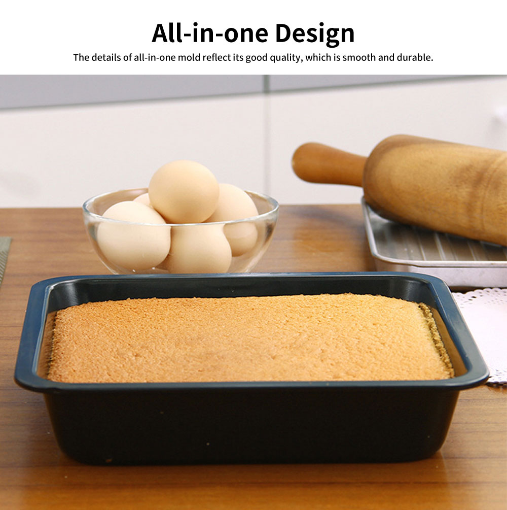 Square Cake Mould, Nonstick Baking Mold, Baking Mold, Durable Non-stick Functional Cake Mould, Handmade Tool 4