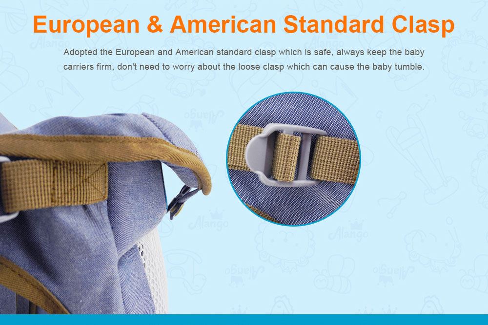 Multiple Functions Baby Carriers, WindproofDust-proof Infant Carrier Toddler Product Suitable for 3-18 Months Baby 6