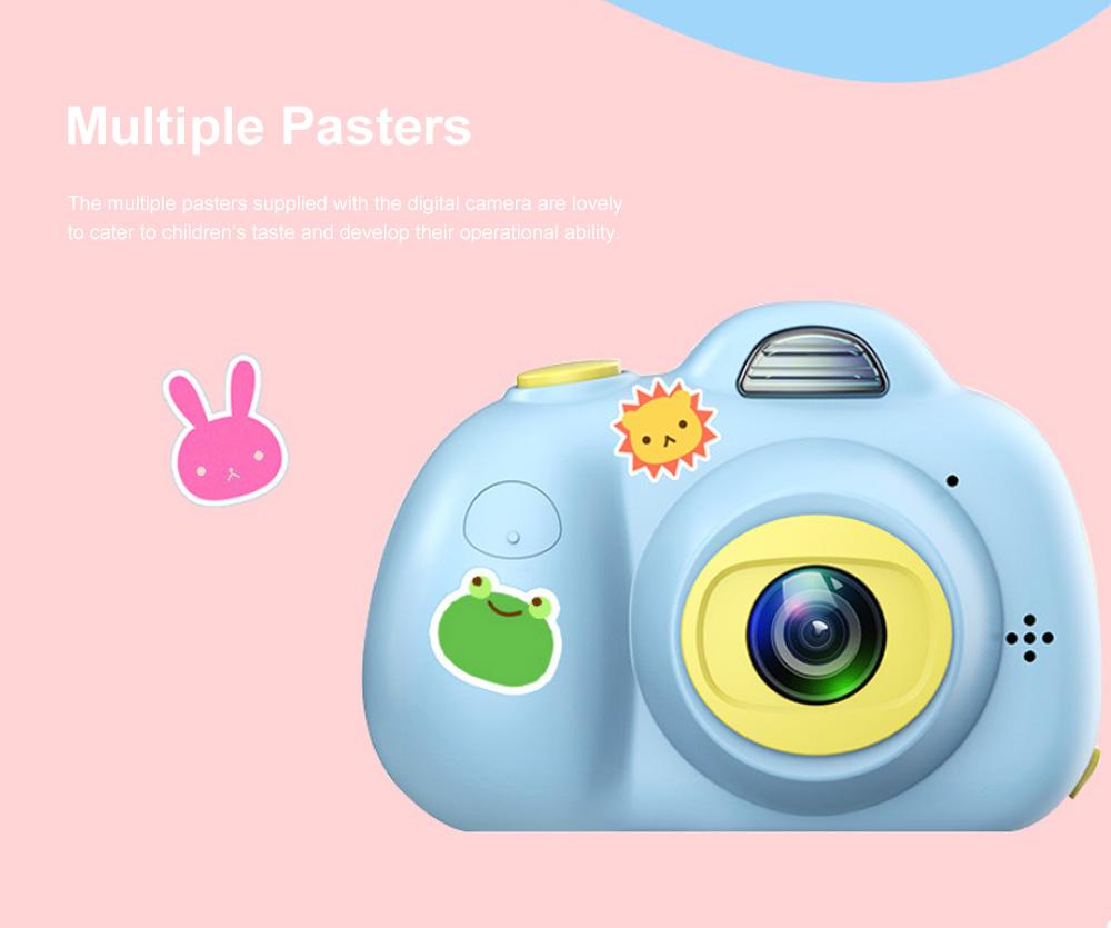 Children Digital Single Lens Reflex Creative Gift Household Use Broken-resistant Twin Lens Toy Camera Mini Funny Kids Digital Camera 3
