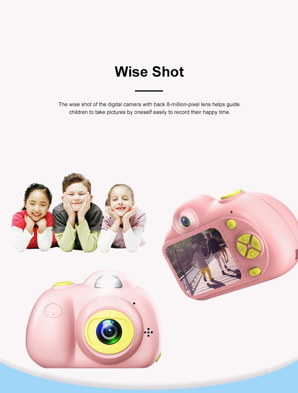 Children Digital Single Lens Reflex Creative Gift Household Use Broken-resistant Twin Lens Toy Camera Mini Funny Kids Digital Camera 1