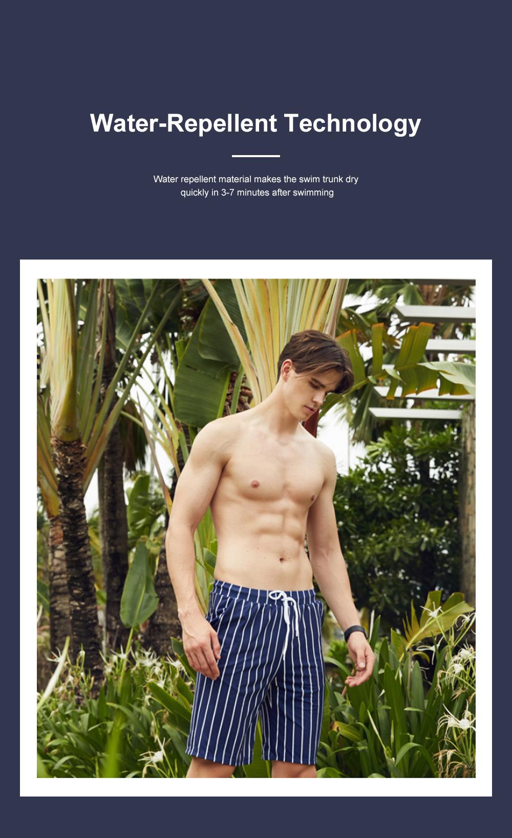 Men Beach Pants Swim Trunk Half Size Colorful Patterns Waterproof Loosing Shorts For Swimming Beach Spring Summer 2