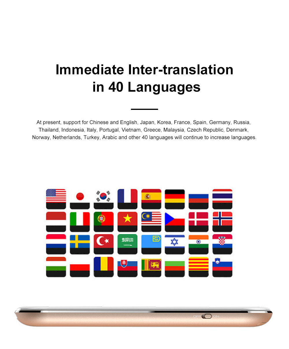 Portable T9 Intelligent Translator English Learning Machine Travel Business Portable Translator 1