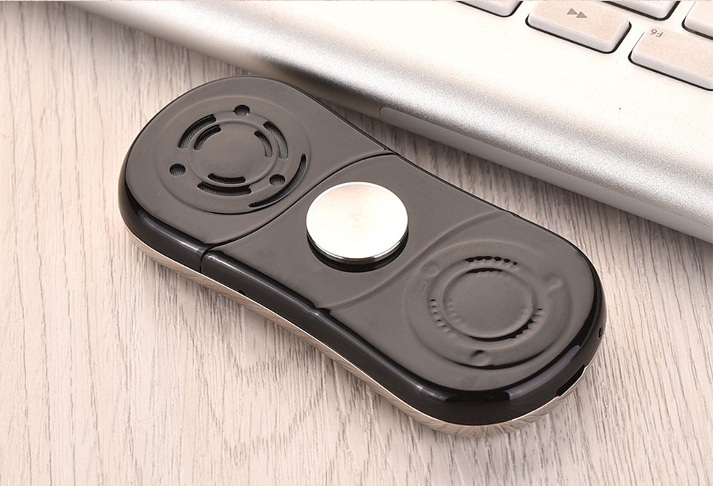Multifunction Mini Phone Gyro Spinner Mobile Dual SIM Card GSM 900 1800 GPRS Bluetooth FM Radio Hand Spinner Cellphone With English Keyboard 15