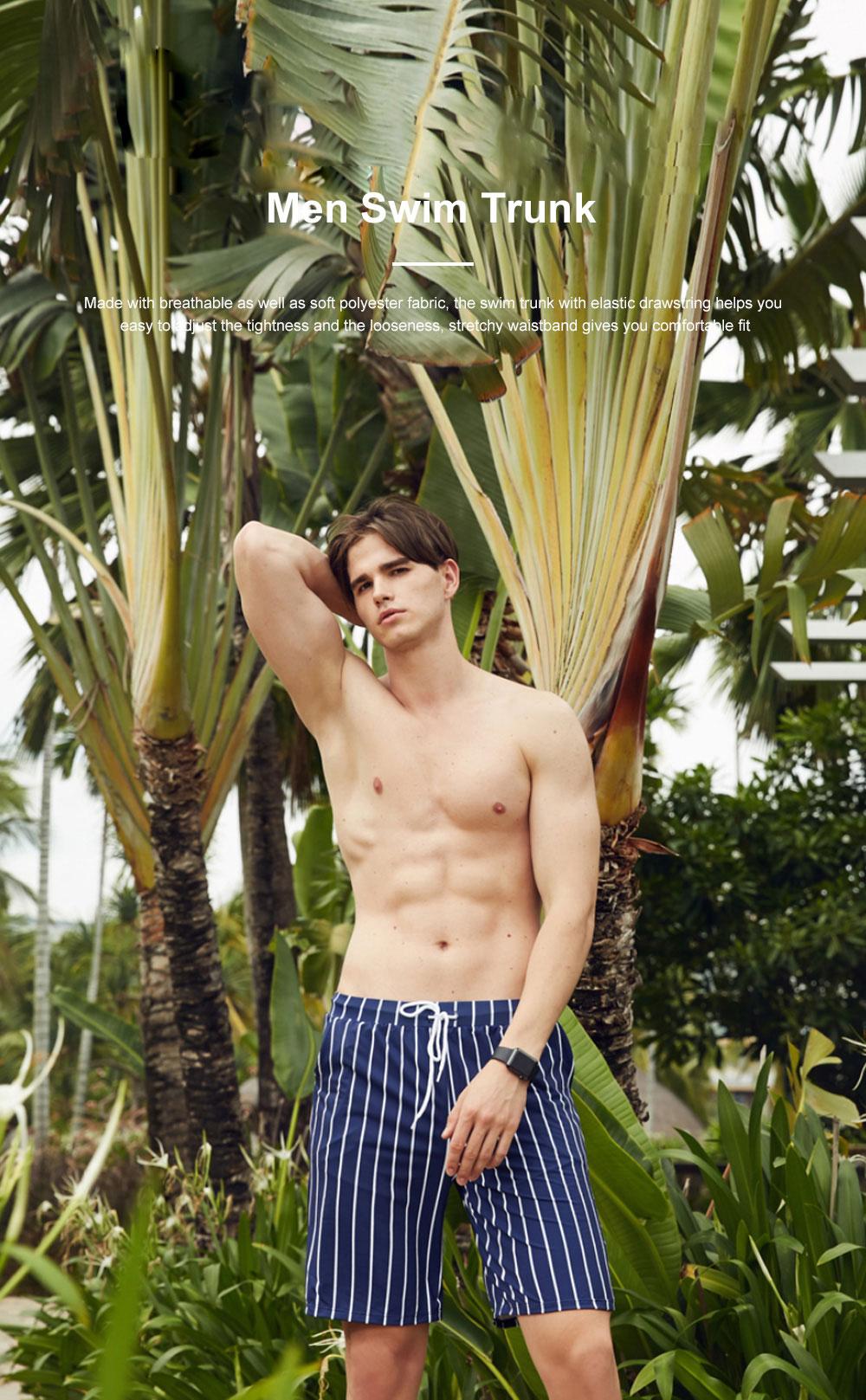Men Beach Pants Swim Trunk Half Size Colorful Patterns Waterproof Loosing Shorts For Swimming Beach Spring Summer 0