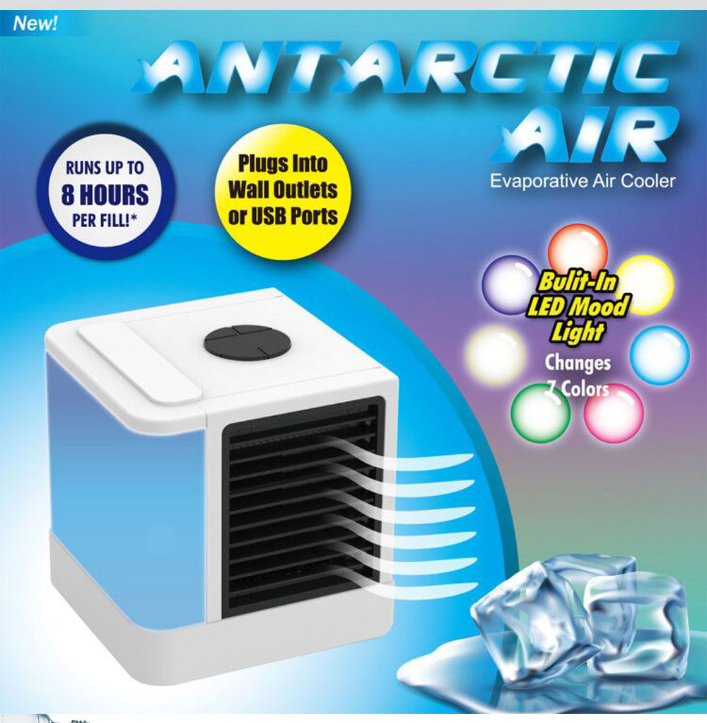 Mini Air Conditioner Fan Personal Space Air Cooler Quick Easy Cooling Air Conditioning Cooler Fan for Office Home 1
