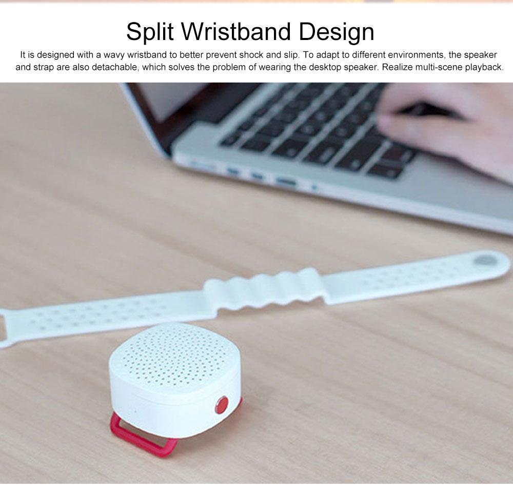 Wrist Mini Bluetooth Speaker Portable Subwoofer Creative Wireless Audio 1