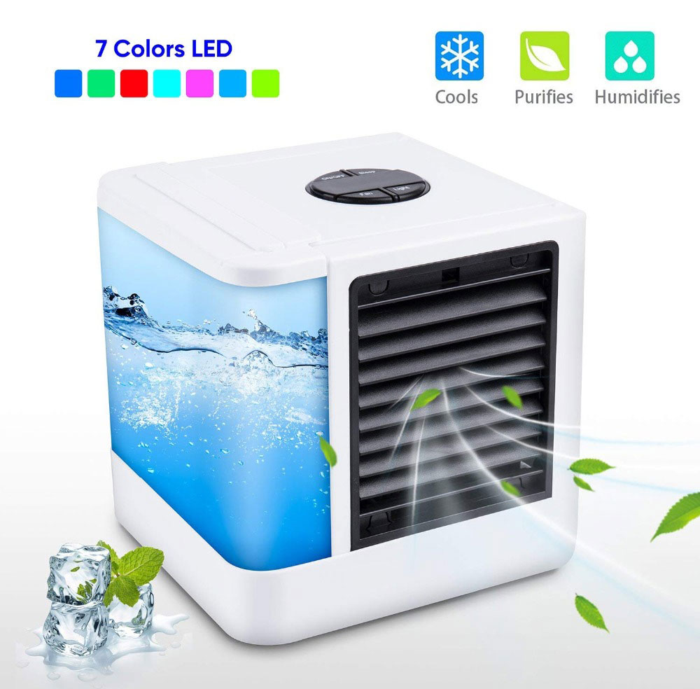 Mini Air Conditioner Fan Personal Space Air Cooler Quick Easy Cooling Air Conditioning Cooler Fan for Office Home 0