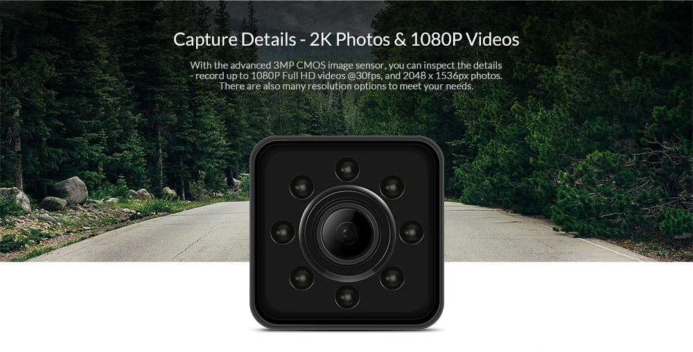 SQ13 Mini HD 1080P Car DVR DV Camera Recorder Wifi Action Camera Night Vision H.264 155 Degree Wide Angle Sport DV 1