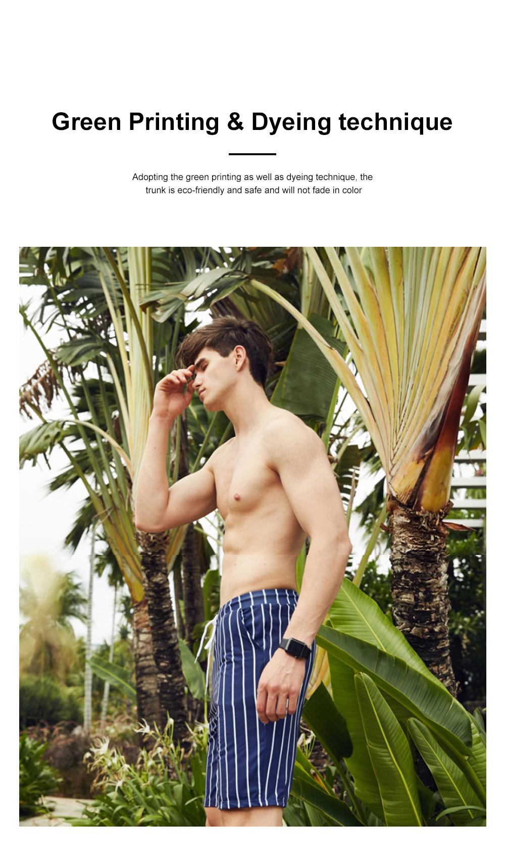 Men Beach Pants Swim Trunk Half Size Colorful Patterns Waterproof Loosing Shorts For Swimming Beach Spring Summer 5