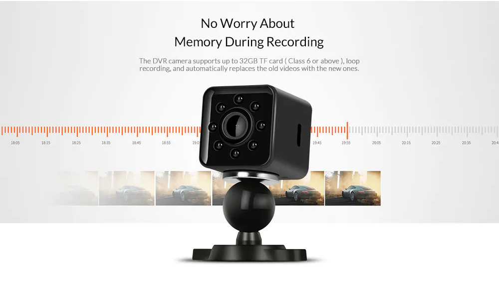 SQ13 Mini HD 1080P Car DVR DV Camera Recorder Wifi Action Camera Night Vision H.264 155 Degree Wide Angle Sport DV 5