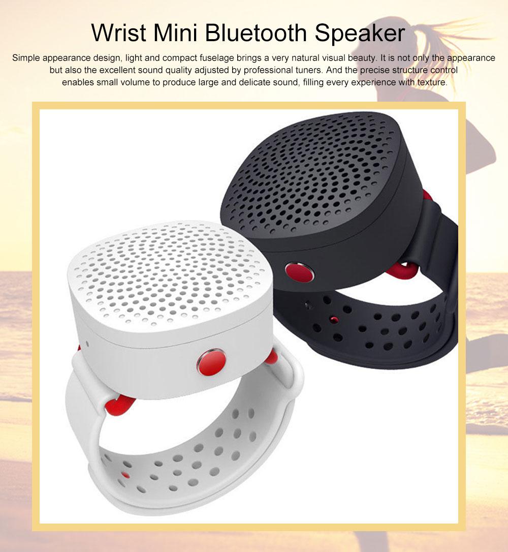 Wrist Mini Bluetooth Speaker Portable Subwoofer Creative Wireless Audio 0