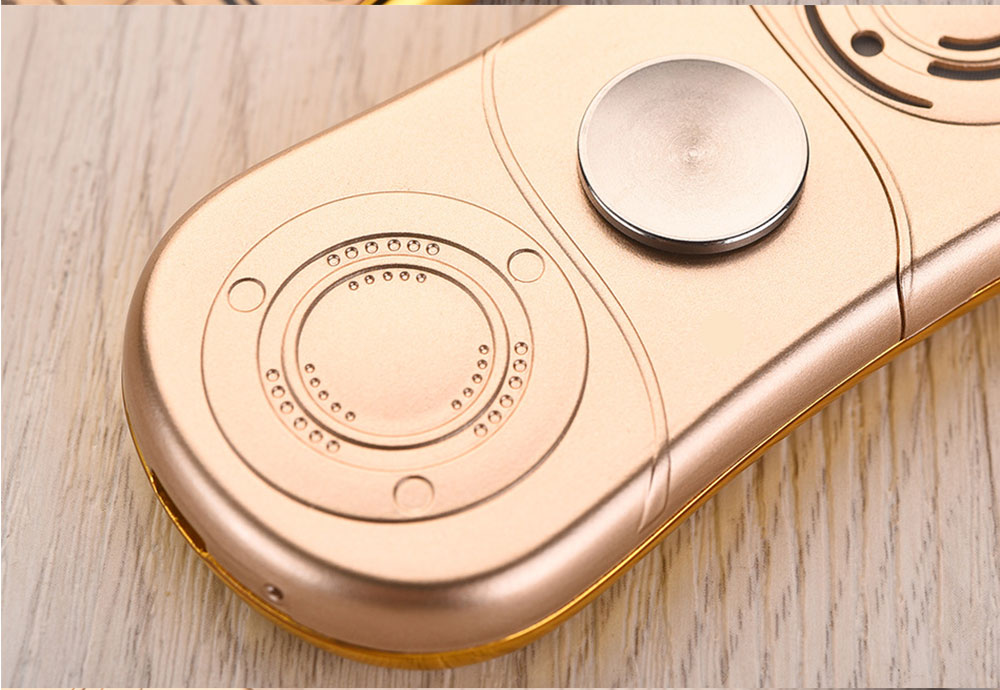 Multifunction Mini Phone Gyro Spinner Mobile Dual SIM Card GSM 900 1800 GPRS Bluetooth FM Radio Hand Spinner Cellphone With English Keyboard 18