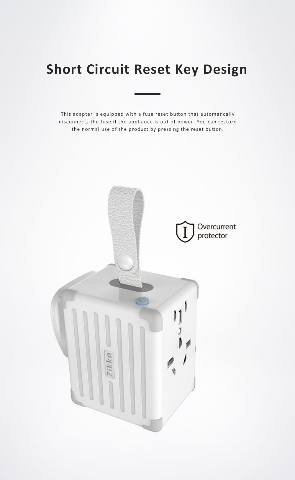 Portable Multifunctional Universal Adaptor Charge-over Plug Travel Abroad Phone Electronic Equipments Charger with 4 USB Ports 8