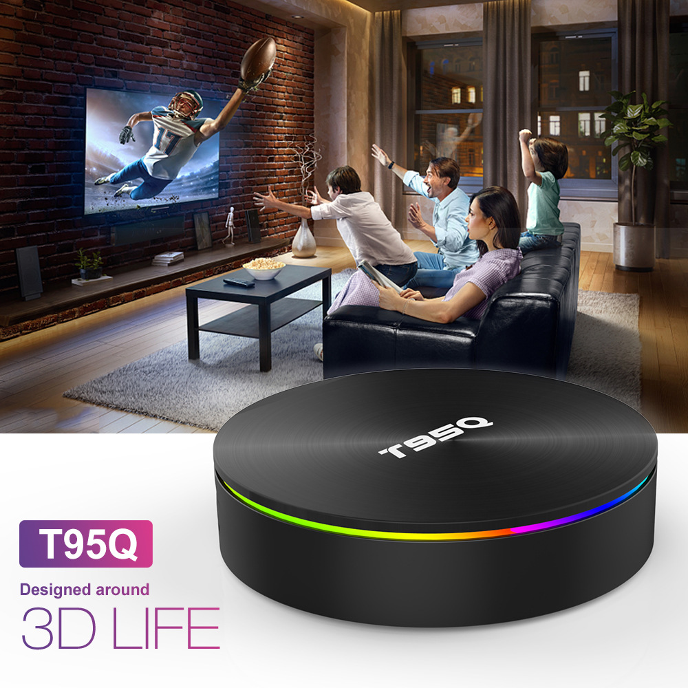 T95Q Android TV Box S905X2 4K Android 8.1 4G/32GB Bluetooth 4.1 5.8G WiFi Smart Box 0