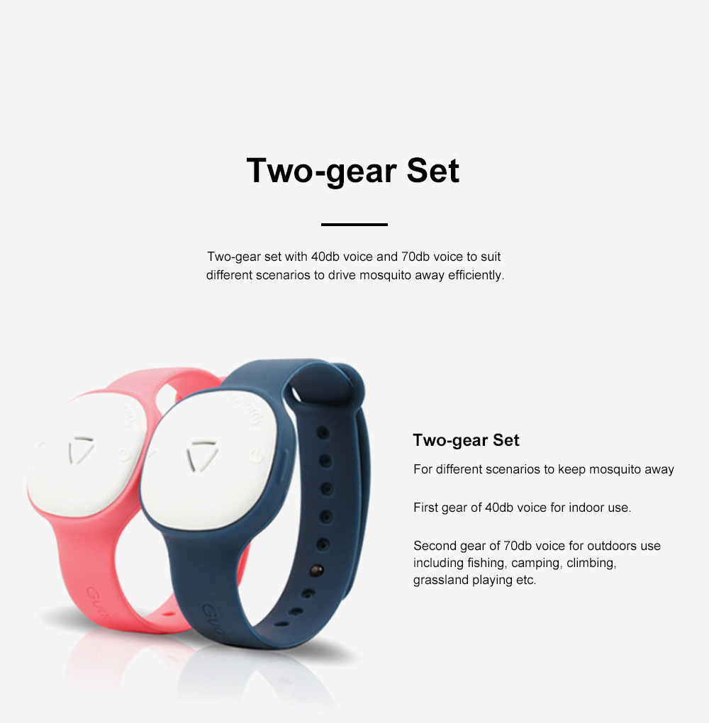 Children's Electronic Anti-mosquito Silicone Wristband for Outdoors Camping Fishing Nontoxic Sound Wave Mosquito Repellent Bracelet for Kids 4