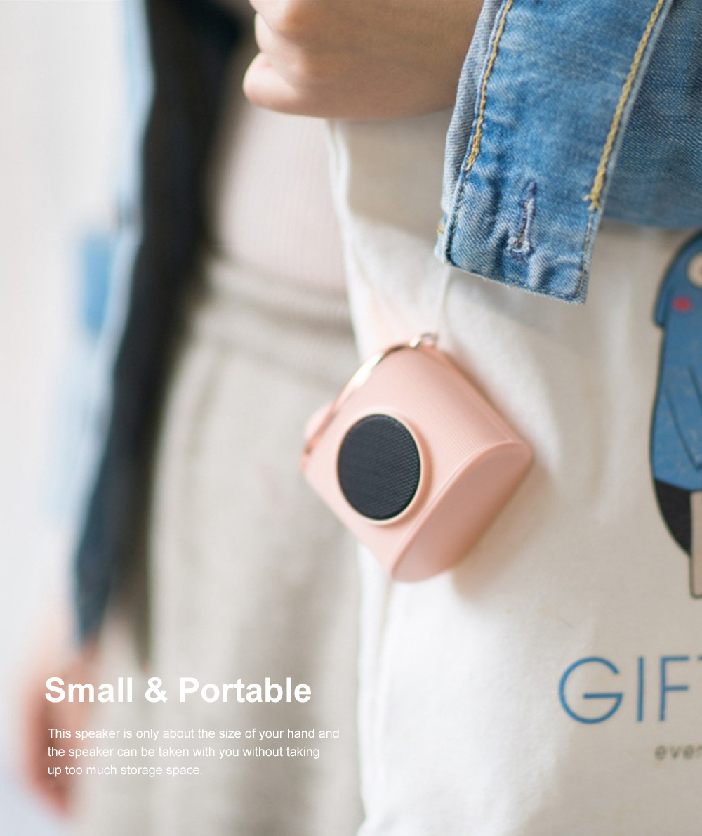 Portable Creative Vintage Camera Model Mini Bluetooth Sound Box Easy Operation USB Memory Loudspeaker Box 4