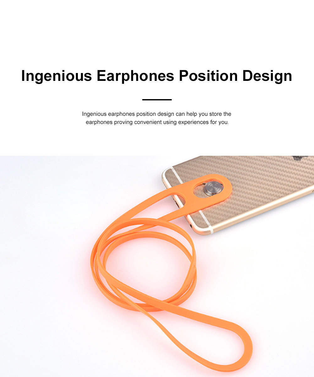 Creative Portable Convenient Elastic Silicone Mobile Phone Sling Rotatable Adjustable Smartphone Hanging Rope 3