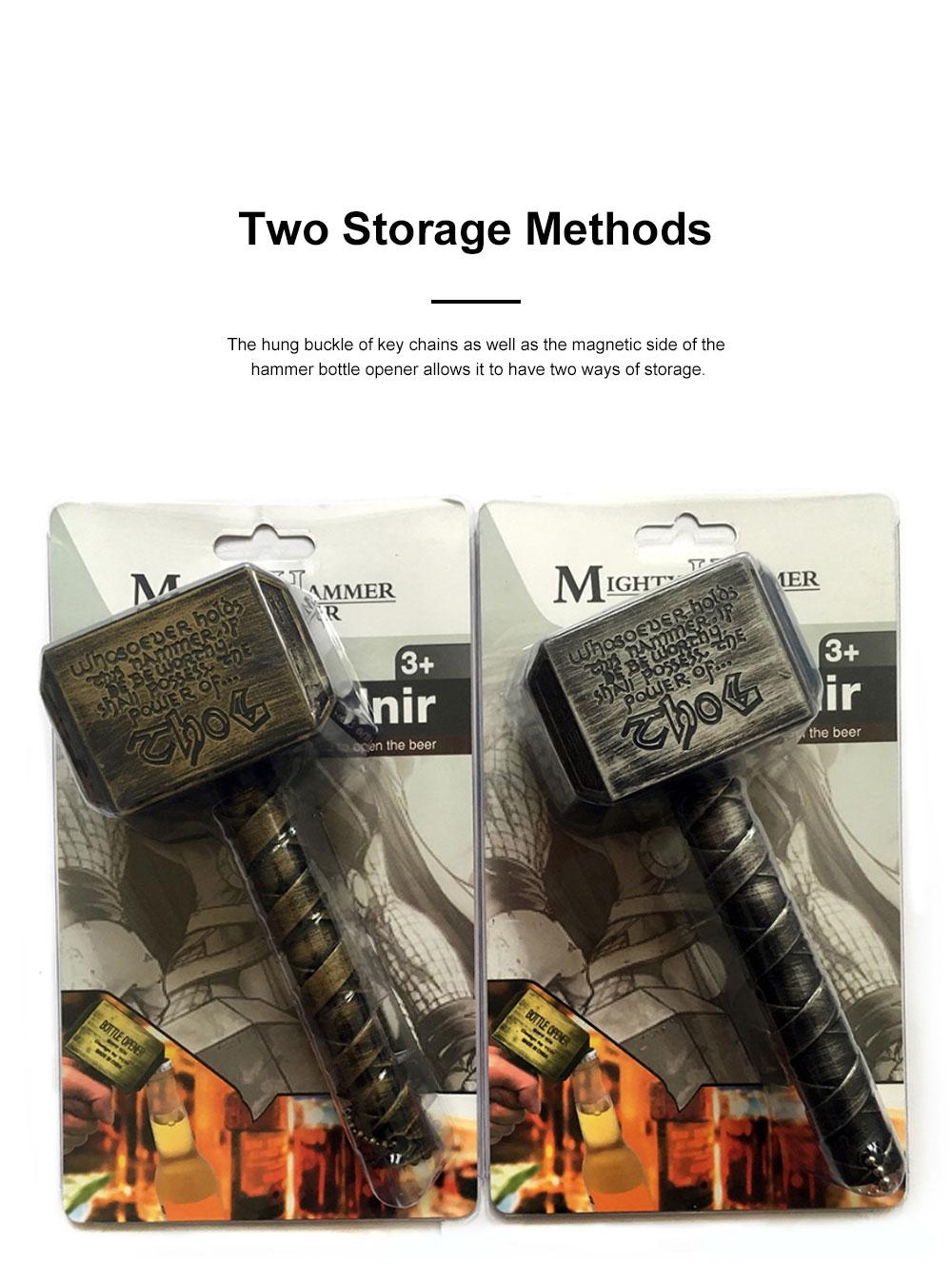 Retro Bottle Opener Raytheon Opener Bottle Opening Shock Resistant Magnetic Screwdriver Hammer Designed Durable Easy to Use Screw Driver Bottle Opener 5